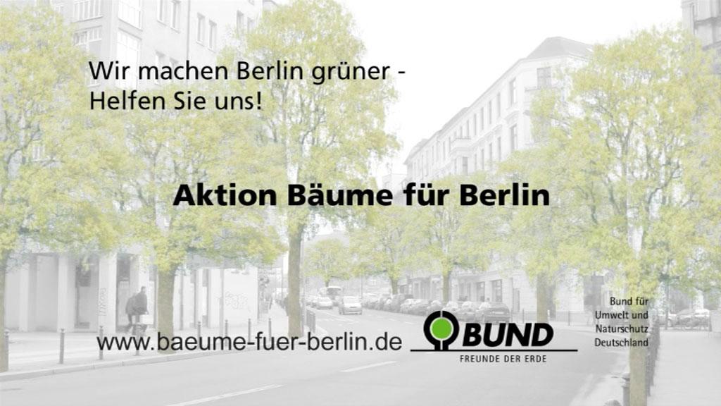 Bäume für Berlin