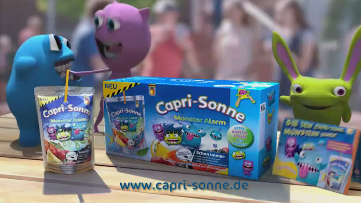 "Capri Sonne ""Monsteralarm"""