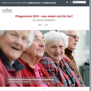 - Caritas Lünen der Caritas Lünen zur Pflegereform 2015