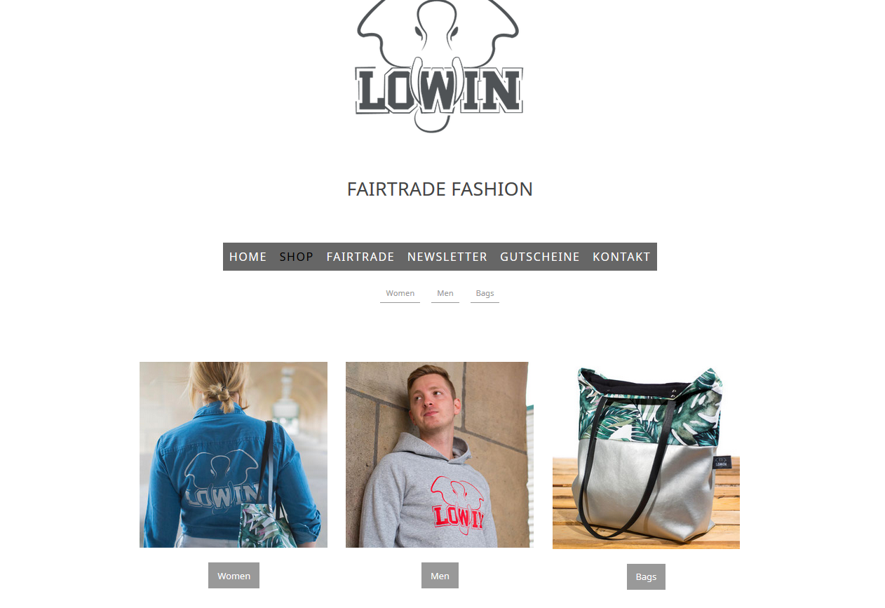 Onlineshop mit WordPress